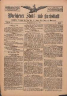 Wreschener Stadt und Kreisblatt: amtlicher Anzeiger für Wreschen, Miloslaw, Strzalkowo und Umgegend 1912.05.23 Nr62