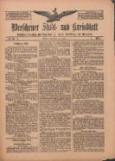 Wreschener Stadt und Kreisblatt: amtlicher Anzeiger für Wreschen, Miloslaw, Strzalkowo und Umgegend 1912.05.30 Nr64