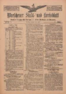 Wreschener Stadt und Kreisblatt: amtlicher Anzeiger für Wreschen, Miloslaw, Strzalkowo und Umgegend 1912.06.01 Nr65