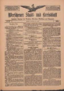 Wreschener Stadt und Kreisblatt: amtlicher Anzeiger für Wreschen, Miloslaw, Strzalkowo und Umgegend 1912.06.06 Nr67