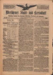 Wreschener Stadt und Kreisblatt: amtlicher Anzeiger für Wreschen, Miloslaw, Strzalkowo und Umgegend 1912.06.18 Nr72
