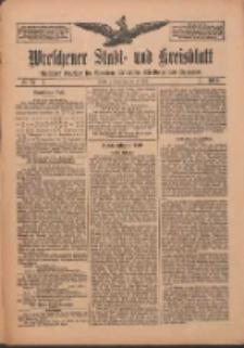 Wreschener Stadt und Kreisblatt: amtlicher Anzeiger für Wreschen, Miloslaw, Strzalkowo und Umgegend 1912.06.20 Nr73