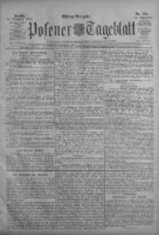 Posener Tageblatt 1906.11.23 Jg.45 Nr549