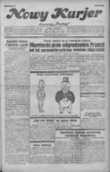 """Nowy Kurjer: dawniej """"Postęp"""" 1931.08.19 R.42 Nr189"""