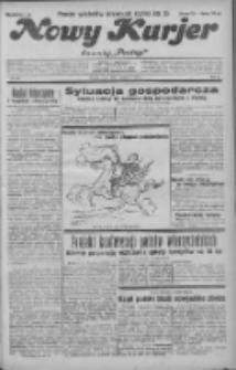 """Nowy Kurjer: dawniej """"Postęp"""" 1931.11.04 R.42 Nr255"""
