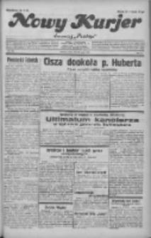"""Nowy Kurjer: dawniej """"Postęp"""" 1932.05.25 R.43 Nr118"""