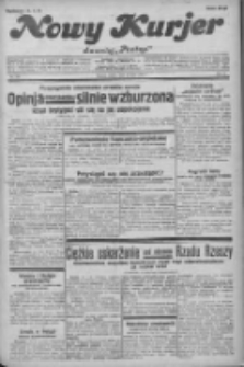 """Nowy Kurjer: dawniej """"Postęp"""" 1932.07.16 R.43 Nr161"""