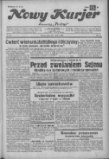 """Nowy Kurjer: dawniej """"Postęp"""" 1932.12.03 R.43 Nr279"""