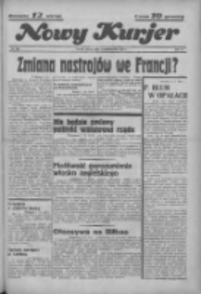 """Nowy Kurjer: dawniej """"Postęp"""" 1936.10.03 R.47 Nr230"""