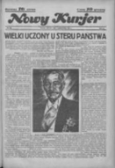 """Nowy Kurjer: dawniej """"Postęp"""" 1936.10.04 R.47 Nr231"""