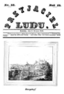 Przyjaciel Ludu; czyli tygodnik potrzebnych i pożytecznych wiadomości 1846.08.08 R.13 T.2 Nr32
