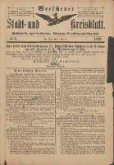 Wreschener Stadt und Kreisblatt: amtlicher Anzeiger für Wreschen, Miloslaw, Strzalkowo und Umgegend 1898.01.19 Nr6