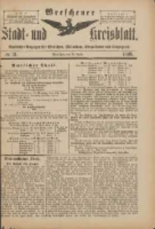Wreschener Stadt und Kreisblatt: amtlicher Anzeiger für Wreschen, Miloslaw, Strzalkowo und Umgegend 1898.04.13 Nr31