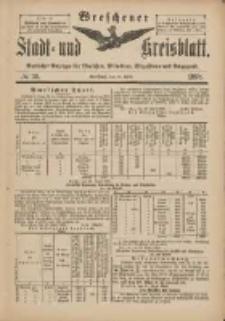 Wreschener Stadt und Kreisblatt: amtlicher Anzeiger für Wreschen, Miloslaw, Strzalkowo und Umgegend 1898.04.27 Nr36