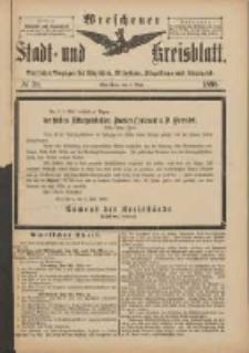 Wreschener Stadt und Kreisblatt: amtlicher Anzeiger für Wreschen, Miloslaw, Strzalkowo und Umgegend 1898.05.07 Nr39