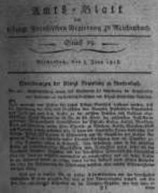 Amts-Blatt der Königlichen Preussischen Regierung zu Reichenbach. 1818.06.05 Stück 23