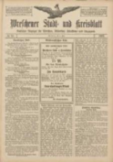 Wreschener Stadt und Kreisblatt: amtlicher Anzeiger für Wreschen, Miloslaw, Strzalkowo und Umgegend 1907.07.02 Nr78