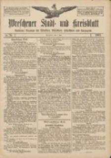 Wreschener Stadt und Kreisblatt: amtlicher Anzeiger für Wreschen, Miloslaw, Strzalkowo und Umgegend 1907.07.04 Nr79
