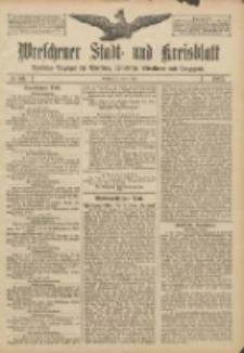 Wreschener Stadt und Kreisblatt: amtlicher Anzeiger für Wreschen, Miloslaw, Strzalkowo und Umgegend 1907.07.06 Nr80