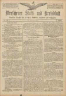 Wreschener Stadt und Kreisblatt: amtlicher Anzeiger für Wreschen, Miloslaw, Strzalkowo und Umgegend 1907.03.02 Nr28