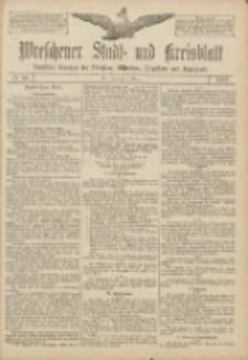 Wreschener Stadt und Kreisblatt: amtlicher Anzeiger für Wreschen, Miloslaw, Strzalkowo und Umgegend 1907.03.07 Nr30