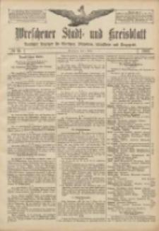 Wreschener Stadt und Kreisblatt: amtlicher Anzeiger für Wreschen, Miloslaw, Strzalkowo und Umgegend 1907.03.09 Nr31