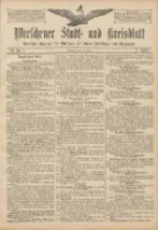Wreschener Stadt und Kreisblatt: amtlicher Anzeiger für Wreschen, Miloslaw, Strzalkowo und Umgegend 1907.03.12 Nr32