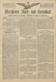 Wreschener Stadt und Kreisblatt: amtlicher Anzeiger für Wreschen, Miloslaw, Strzalkowo und Umgegend 1907.03.14 Nr33