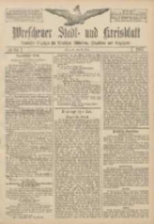 Wreschener Stadt und Kreisblatt: amtlicher Anzeiger für Wreschen, Miloslaw, Strzalkowo und Umgegend 1907.03.16 Nr34