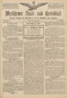 Wreschener Stadt und Kreisblatt: amtlicher Anzeiger für Wreschen, Miloslaw, Strzalkowo und Umgegend 1907.03.26 Nr38