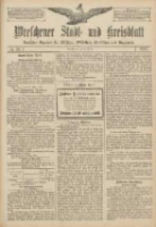Wreschener Stadt und Kreisblatt: amtlicher Anzeiger für Wreschen, Miloslaw, Strzalkowo und Umgegend 1907.03.28 Nr39