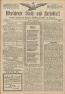 Wreschener Stadt und Kreisblatt: amtlicher Anzeiger für Wreschen, Miloslaw, Strzalkowo und Umgegend 1907.03.30 Nr40