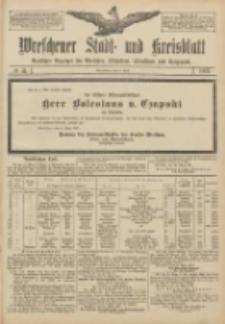 Wreschener Stadt und Kreisblatt: amtlicher Anzeiger für Wreschen, Miloslaw, Strzalkowo und Umgegend 1907.04.04 Nr41