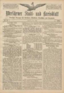 Wreschener Stadt und Kreisblatt: amtlicher Anzeiger für Wreschen, Miloslaw, Strzalkowo und Umgegend 1907.04.06 Nr42
