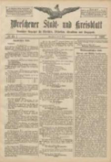 Wreschener Stadt und Kreisblatt: amtlicher Anzeiger für Wreschen, Miloslaw, Strzalkowo und Umgegend 1907.04.09 Nr43