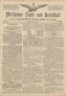 Wreschener Stadt und Kreisblatt: amtlicher Anzeiger für Wreschen, Miloslaw, Strzalkowo und Umgegend 1907.04.11 Nr44