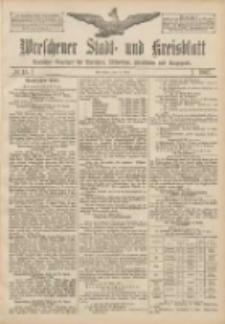 Wreschener Stadt und Kreisblatt: amtlicher Anzeiger für Wreschen, Miloslaw, Strzalkowo und Umgegend 1907.04.13 Nr45