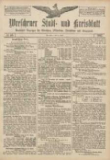 Wreschener Stadt und Kreisblatt: amtlicher Anzeiger für Wreschen, Miloslaw, Strzalkowo und Umgegend 1907.04.16 Nr46
