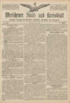 Wreschener Stadt und Kreisblatt: amtlicher Anzeiger für Wreschen, Miloslaw, Strzalkowo und Umgegend 1907.04.20 Nr48