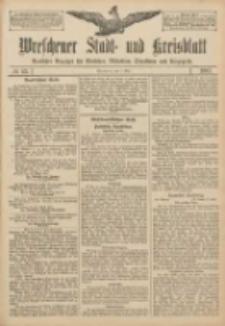 Wreschener Stadt und Kreisblatt: amtlicher Anzeiger für Wreschen, Miloslaw, Strzalkowo und Umgegend 1907.05.02 Nr53