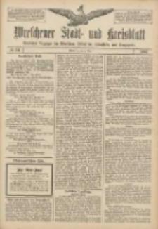 Wreschener Stadt und Kreisblatt: amtlicher Anzeiger für Wreschen, Miloslaw, Strzalkowo und Umgegend 1907.05.04 Nr54