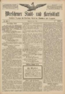 Wreschener Stadt und Kreisblatt: amtlicher Anzeiger für Wreschen, Miloslaw, Strzalkowo und Umgegend 1907.05.07 Nr55
