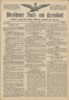 Wreschener Stadt und Kreisblatt: amtlicher Anzeiger für Wreschen, Miloslaw, Strzalkowo und Umgegend 1907.05.11 Nr57