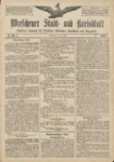 Wreschener Stadt und Kreisblatt: amtlicher Anzeiger für Wreschen, Miloslaw, Strzalkowo und Umgegend 1907.05.16 Nr59