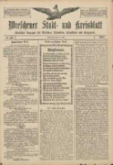 Wreschener Stadt und Kreisblatt: amtlicher Anzeiger für Wreschen, Miloslaw, Strzalkowo und Umgegend 1907.05.18 Nr60