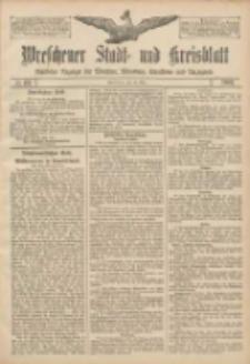 Wreschener Stadt und Kreisblatt: amtlicher Anzeiger für Wreschen, Miloslaw, Strzalkowo und Umgegend 1907.05.28 Nr63