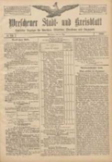 Wreschener Stadt und Kreisblatt: amtlicher Anzeiger für Wreschen, Miloslaw, Strzalkowo und Umgegend 1907.05.30 Nr64