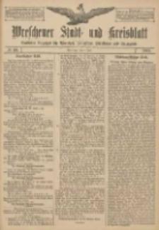 Wreschener Stadt und Kreisblatt: amtlicher Anzeiger für Wreschen, Miloslaw, Strzalkowo und Umgegend 1907.06.09 Nr68