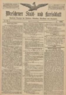 Wreschener Stadt und Kreisblatt: amtlicher Anzeiger für Wreschen, Miloslaw, Strzalkowo und Umgegend 1907.06.13 Nr70