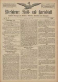 Wreschener Stadt und Kreisblatt: amtlicher Anzeiger für Wreschen, Miloslaw, Strzalkowo und Umgegend 1907.06.15 Nr71